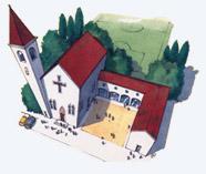 Illustrazione circolo oratorio